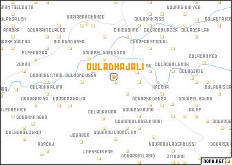 map of Oulad Haj Ali