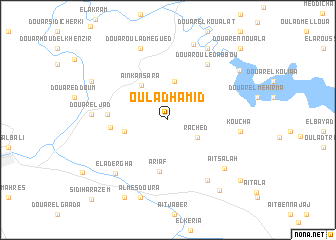 map of Oulad Hamid