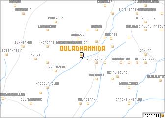 map of Oulad Hammida