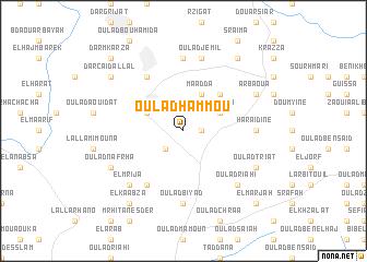 map of Oulad Hammou