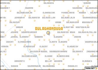 map of Oulad Hamouda