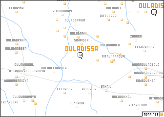 map of Oulad Issa