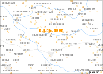 map of Oulad Jaber