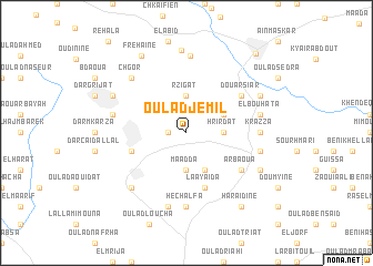 map of Oulad Jemil