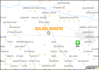 map of Oulad Lahsene