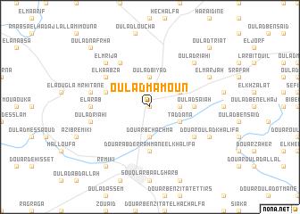 map of Oulad Mamoun
