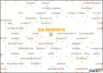 map of Oulad Mehaya