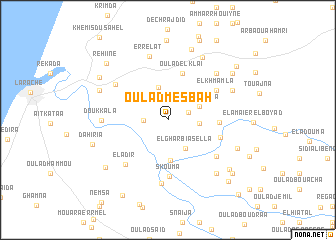 map of Oulad Mesbah