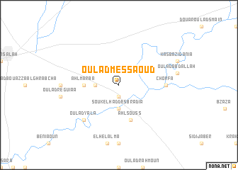map of Oulad Messaoud