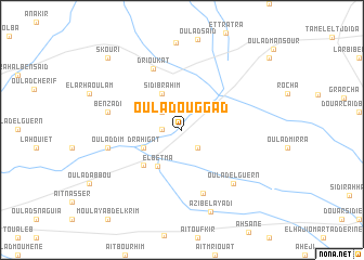 map of Oulad Ouggad