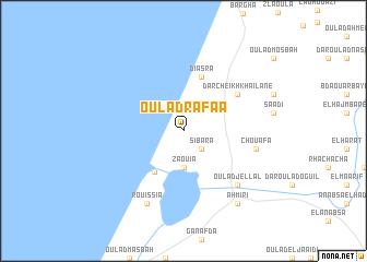 map of Oulad Rafaa