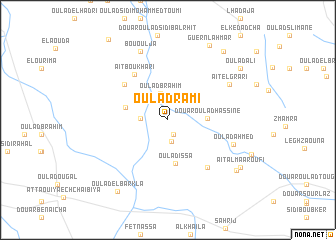 map of Oulad Rami