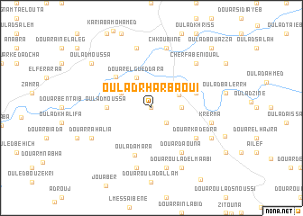 map of Oulad Rharbaoui