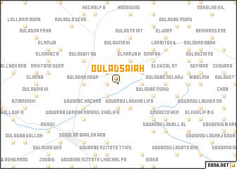 map of Oulad Saïah