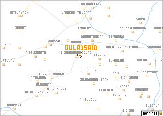 map of Oulad Saïd