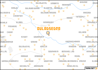 map of Oulad Sedra