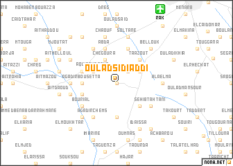 map of Oulad Sidi Addi