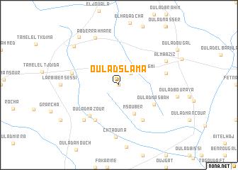 map of Oulad Slama