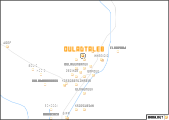map of Oulad Taleb