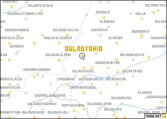 map of Oulad Yahia
