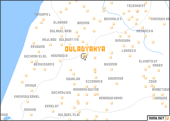 map of Oulad Yahya