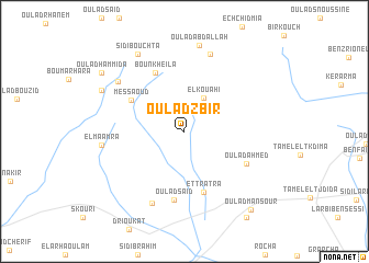map of Oulad Zbir
