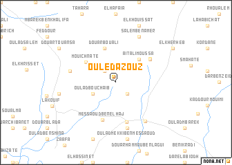 map of Ouled Azouz