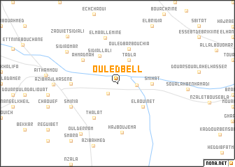 map of Ouled Bell