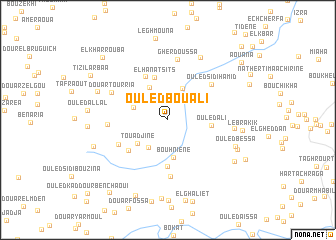 map of Ouled Bou Ali