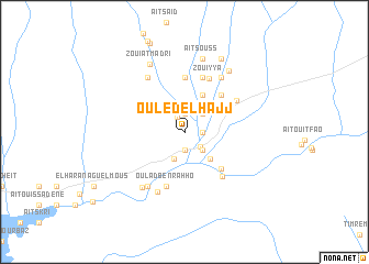map of Ouled el Hajj