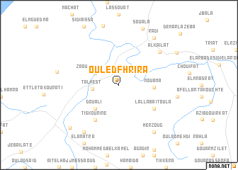 map of Ouled Fhrira