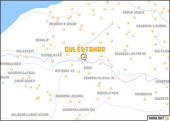map of Ouled Tahar