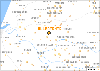 map of Ouled Yahya