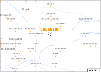 map of Ouled Zbir
