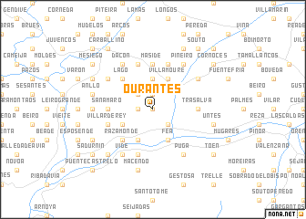 map of Ourantes