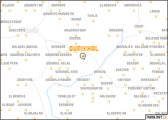 map of Ourikhal