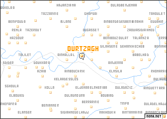 map of Ourtzagh