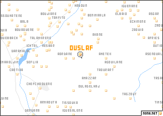 map of Ouslaf