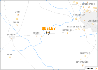 map of Ousley