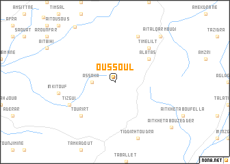 map of Oussoul