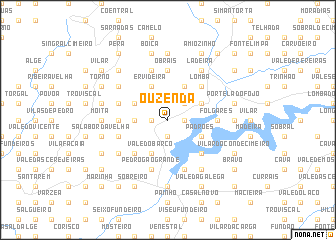 map of Ouzenda