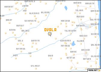 map of Ovala