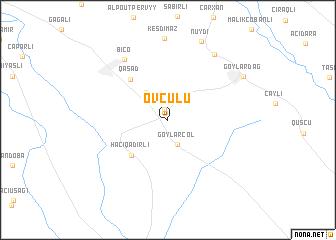 map of Ovçulu