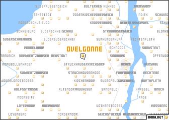 map of Ovelgönne