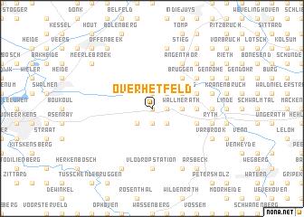 map of Overhetfeld