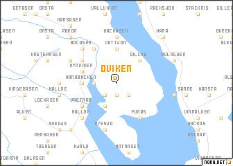 Oviken Sweden Map Nonanet - Jamtland sweden map
