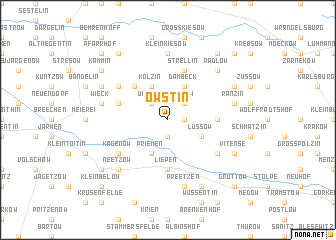 map of Owstin