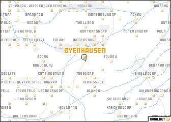 map of Oyenhausen