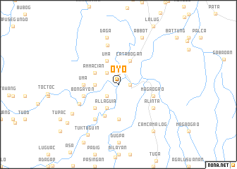 map of Oyo