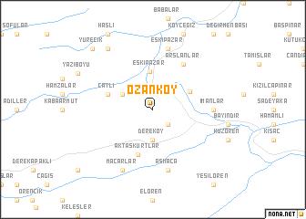 map of Ozanköy